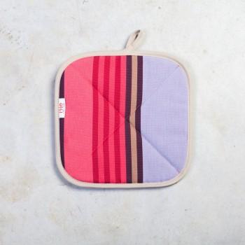 Manique carrée coton
