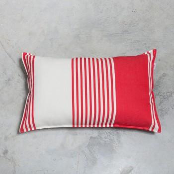 Housse de coussin rectangulaire coton