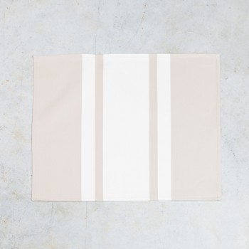 Serviette de table ourlée coton