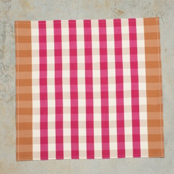 Cotton hemmed napkin