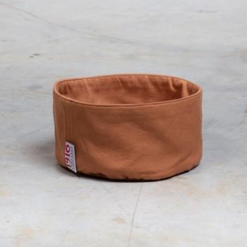 Round cotton bread basket