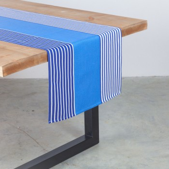 Coated canvas table runner