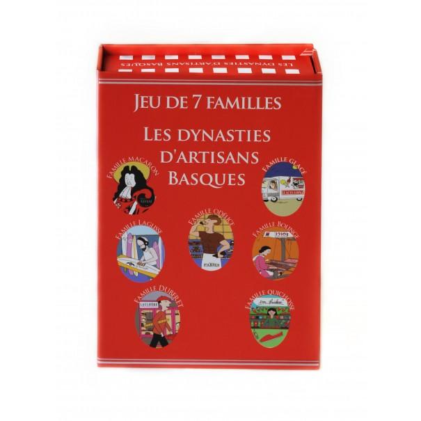 Jeu des 7 familles - Les dynasties d'artisans basques