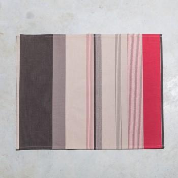 Set de table ourlé coton