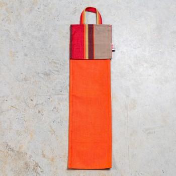 Orange bread bags