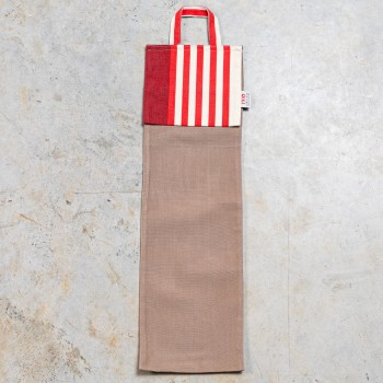 Beige bread bags