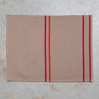 Individual de algodón con dobladillo