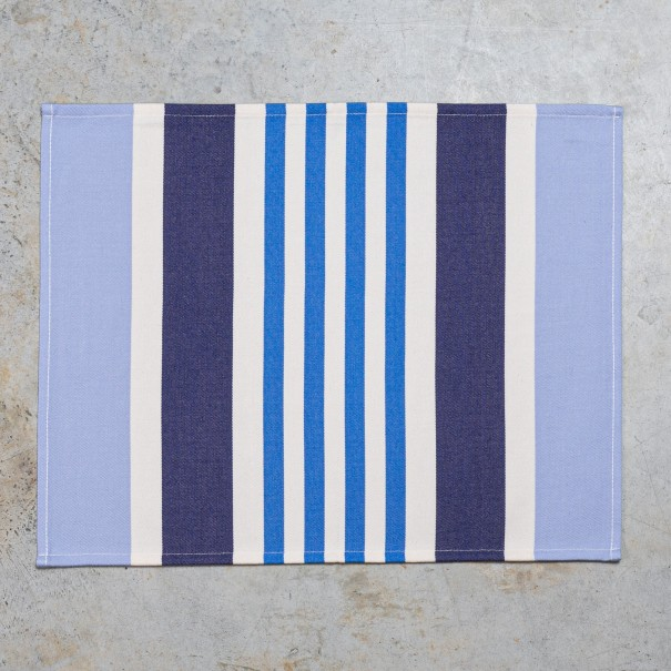 Coated hemmed placemat