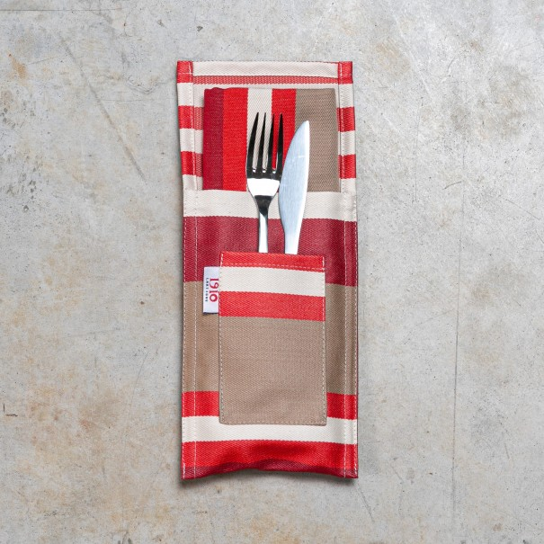 Napkin and cutlery holder