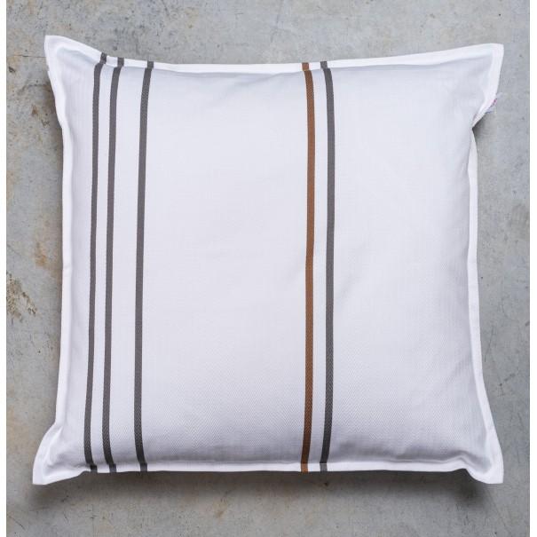 Funda de cojín algodón cuadrado
