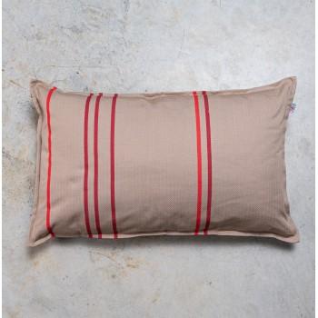 Funda de cojin algodon rectangular